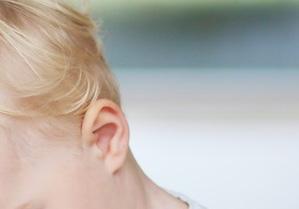 babys ear
